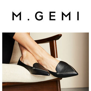 *SOLD* EUC M Gemi Stellato Pointed Toe Flat Loafer
